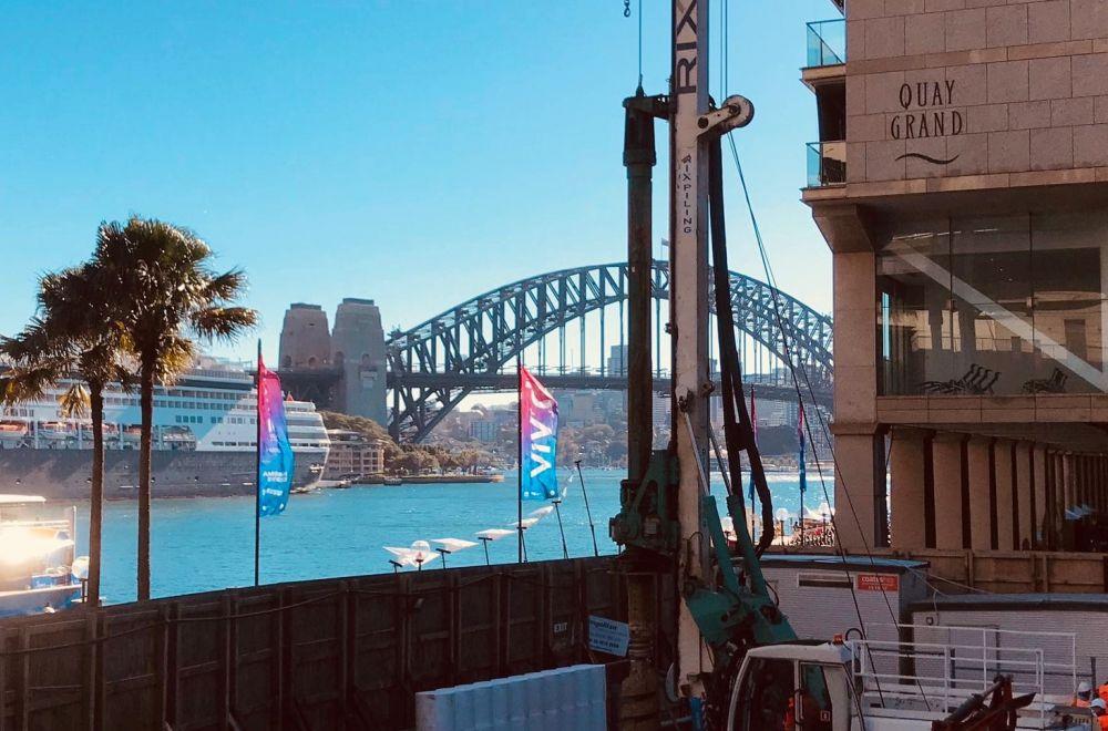 Casagrande B105, Sydney Harbour